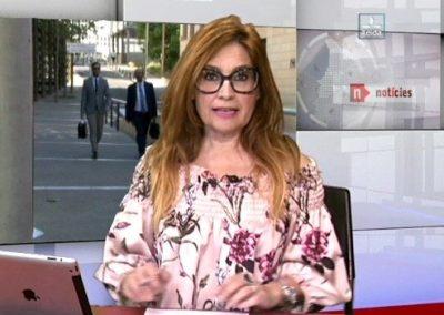 Presentación y coordinación Informativos Lleida TV